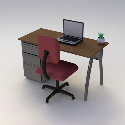 Sillas escritorios y puestos de trabajo puesto de for Mobiliario de escritorio fabricantes