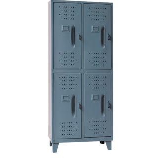 Locker  Metalico Grande 4 Servicios