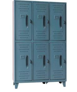 Locker  Metalico Grande 6 Servicios