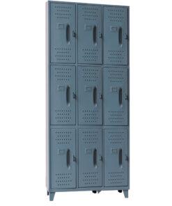 Locker  Metalico Mediano 9 servicios