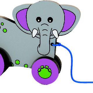 """Animal De Arrastrable """" El Elefante"""""""