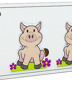 Encajable Secuencia De Tamaños El Cerdo
