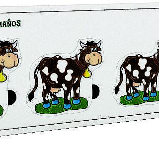 Encajable Secuencia De Tamaños La Vaca