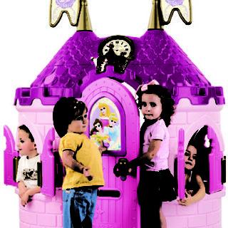 Castillo De Princesas Disney.