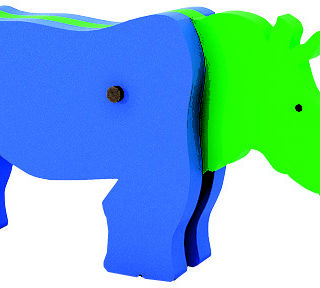 Animal Desarmable Rinoceronte