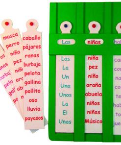 Regleta Lexica Español.