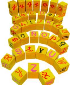 Juego Cubos De Letras.