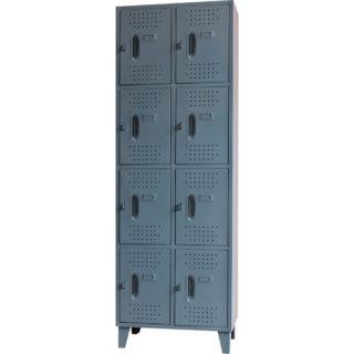 Locker  Metalico Pequeño 8 Servicios