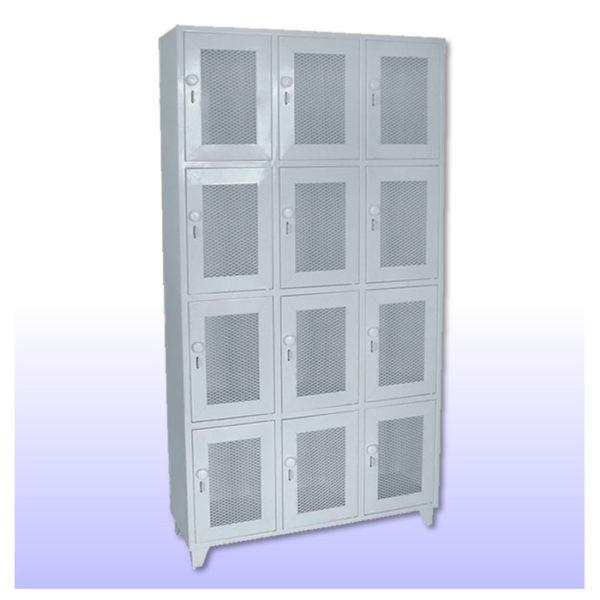 Locker  Metalico Pequeño 12 Servicios