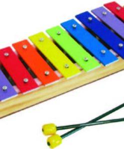 Xilófono De 10 Notas Platino.