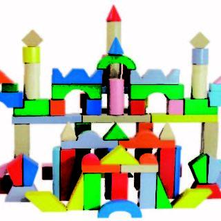Bloques De Construcción Por 100 Piezas Combinado.