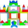 Bloques De Construcción Por 50 Piezas. Combinado